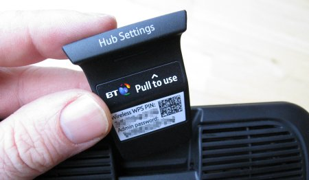 change bt hub password