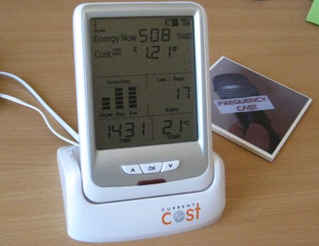 Envi Meter connected