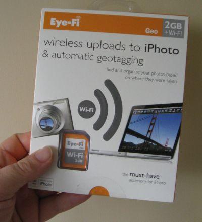 Eye-Fi Geo Wi-Fi 2GB Wireless Upload to iPhoto /& Auto Geotagging for Mac