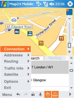 Map 24 Mobile on Windows Mobile