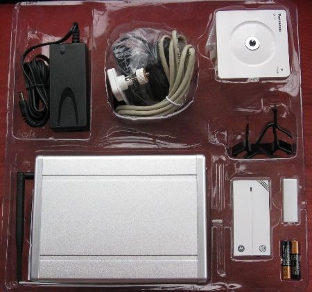 myhome247 Kit contents
