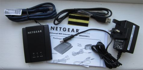 Netgear Wi-Fi Adapter WNCE2001 Help and Advice
