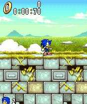 Sonic on the N-Gage