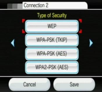 Select Security type