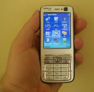 Nokia N73 - Mobile Phone Information from FileSaveAs