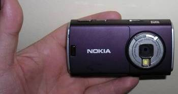Rear of Nokia N95