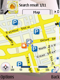 N95 Maps application