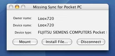 Missing Sync for Pocket PC