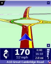 Navigating with TomTom