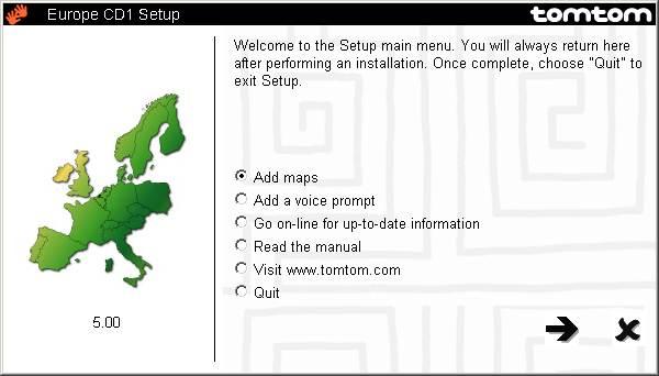 Tomtom Map Activator
