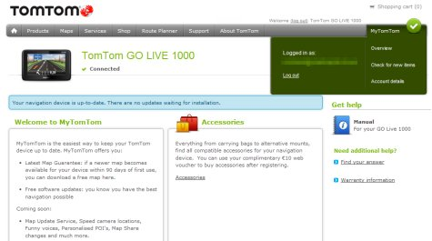 TomTom Go Live 1000 UK Review and Advice