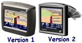 TomTom One Versions