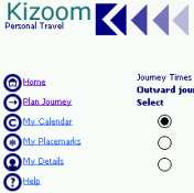 Kizoom on a Pocket PC